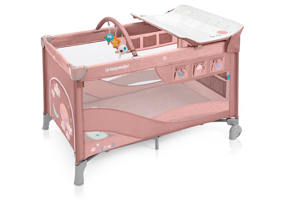 Adventi meglepetés – Baby Design Dream multifunkciós utazóágy