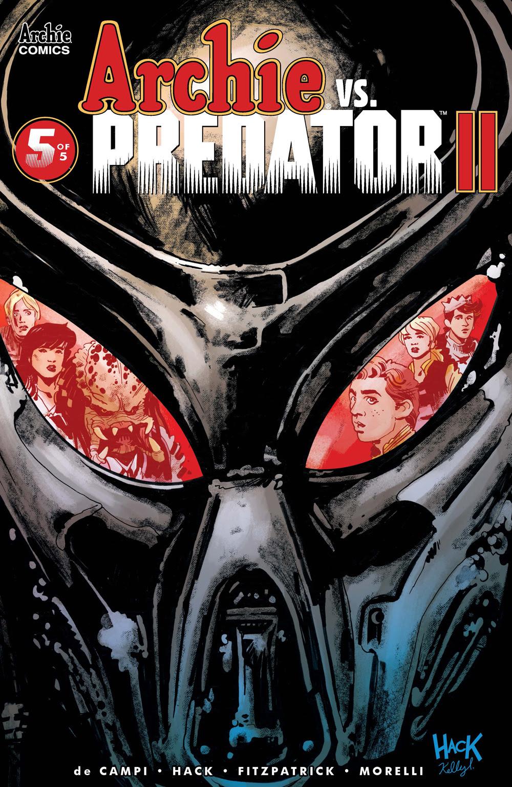 ARCHIE VS. PREDATOR 2 #5: CVR A Hack