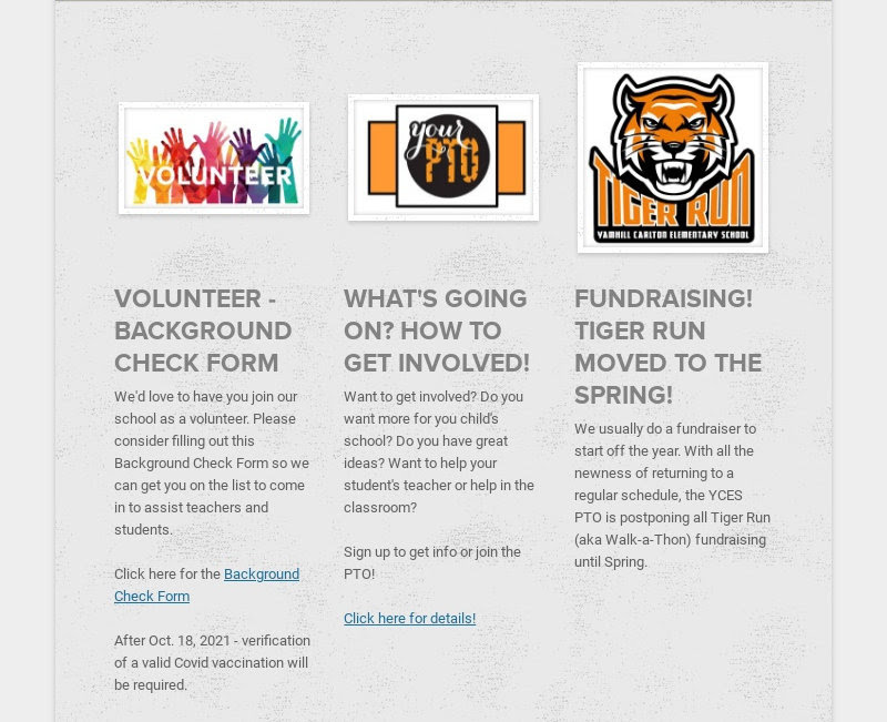 VOLUNTEER - BACKGROUND CHECK FORM                         We'd love to have you join our school as a volunteer. Please...