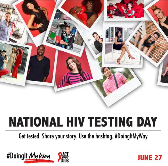 National HIV Testing Day #DoingItMyWay