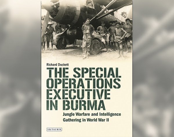 Special Operations Executive in Burma book cover