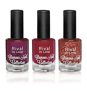 "Rival de Loop ""Glamour Nail Collection"" Nailpolish Red"