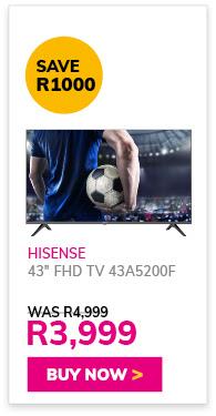 HISENSE 43'' FHD TV