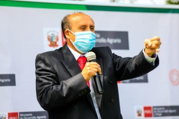 Viceministro Altamirano asegura que especialistas del Midagri asistirán técnicamente a productores familiares