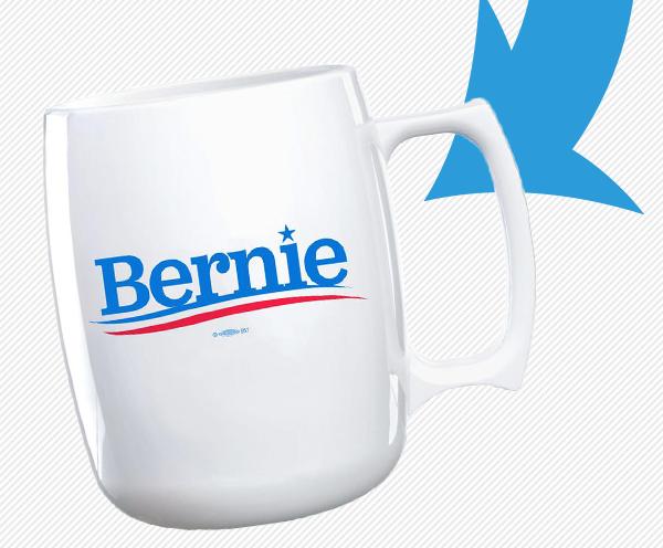 Regular Bernie mug,