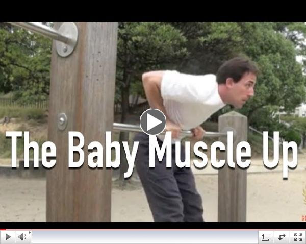 The Baby Muscle Up - Ultimate Muscle-Up Progression Exercise
