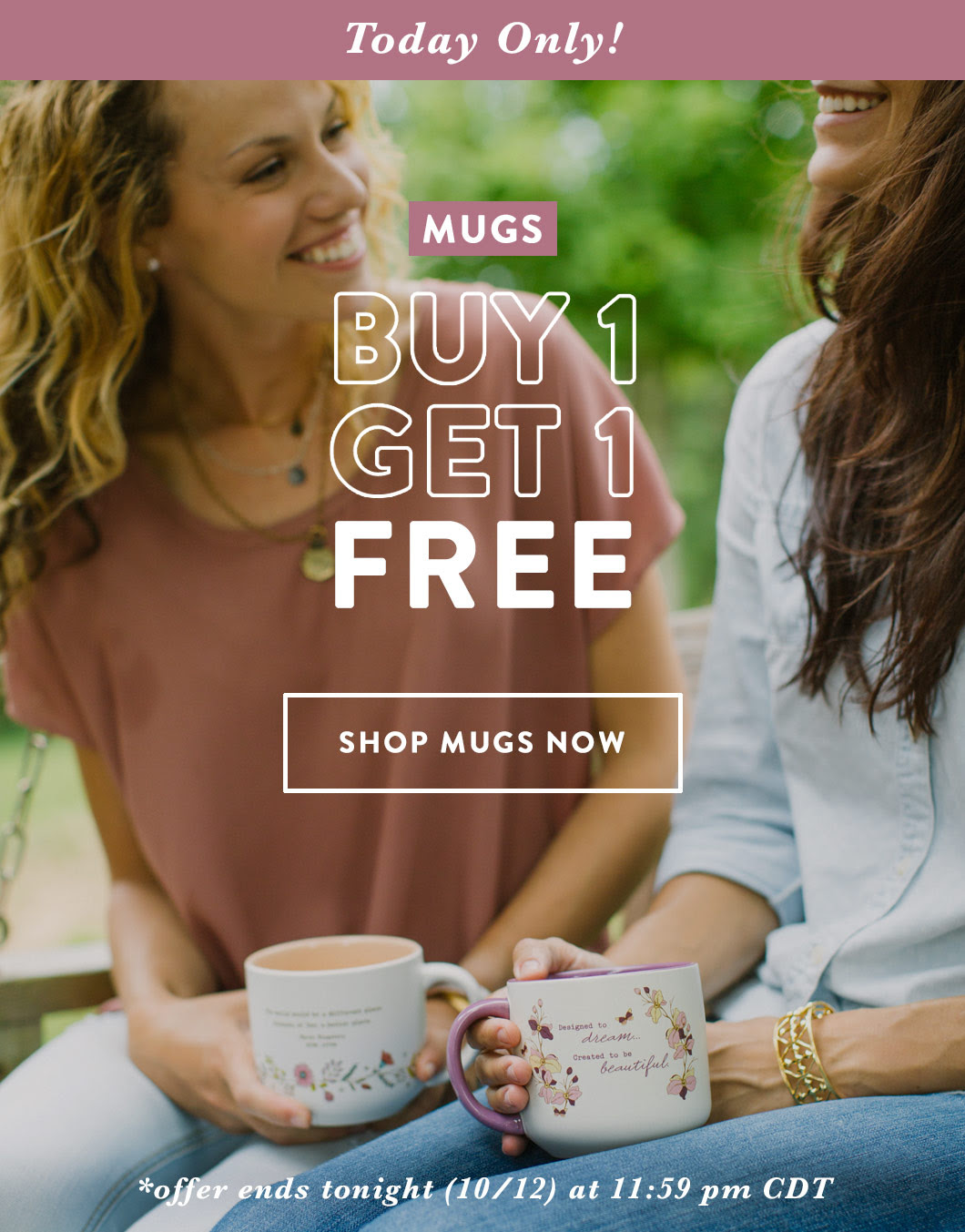 Mugs Bogo Featured Banner Today Only October 2016