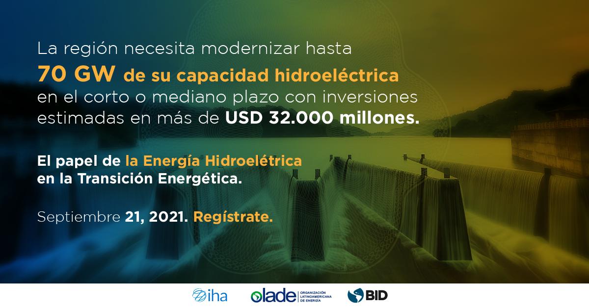 Webinar hidroelectricidad