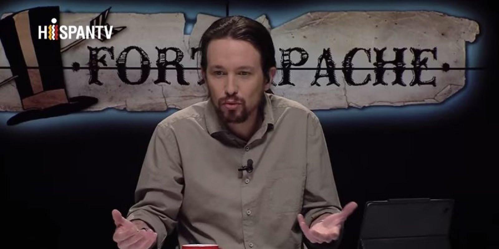 Pablo Iglesias presentando 'Fort Apache'