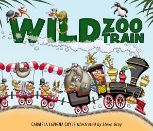 Wild Zoo Train Cover