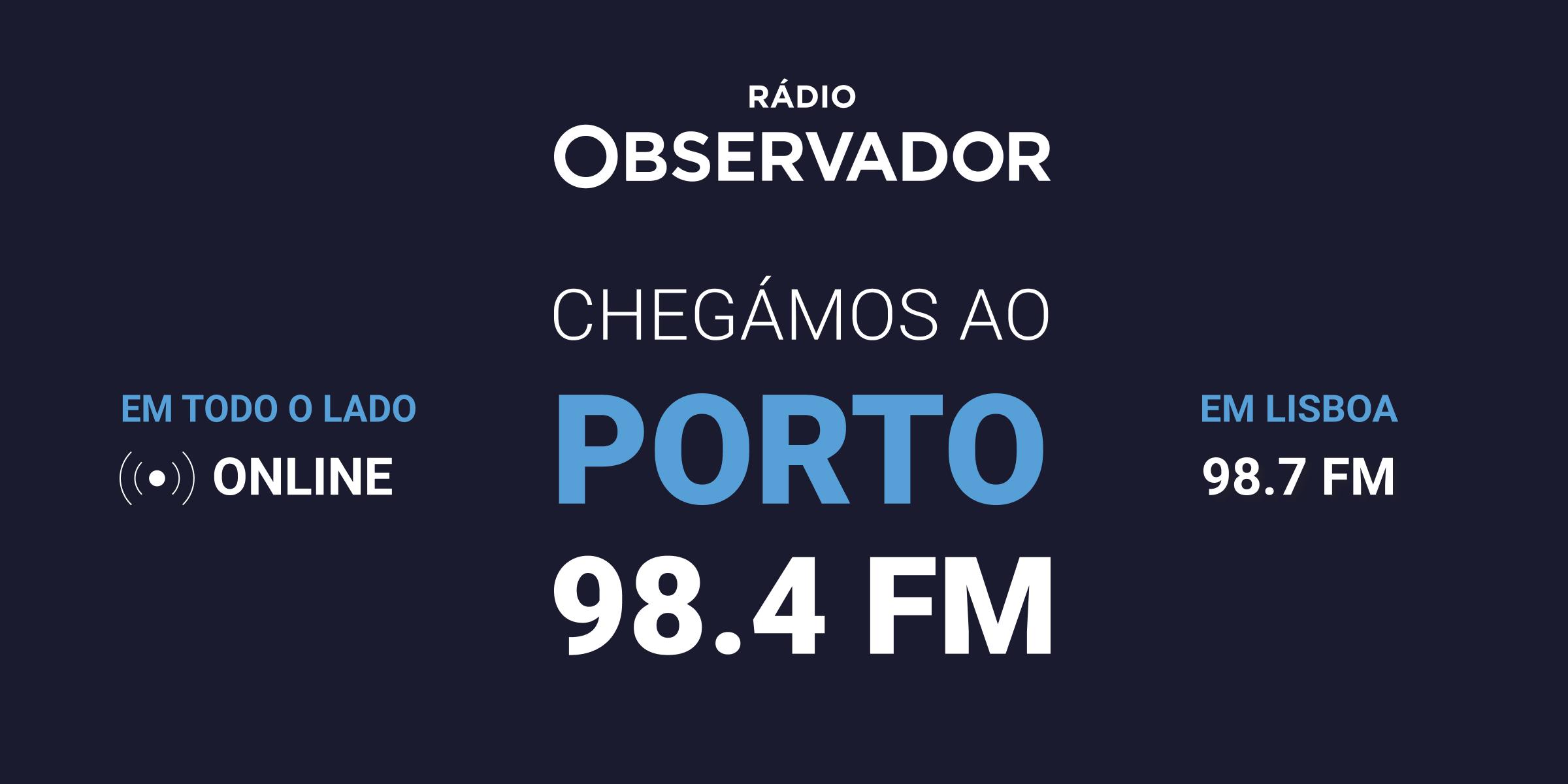 Chegámos ao Porto. 98.4FM