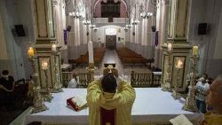 Imagen de archivo: La Iglesia en Venezuela sale al encuentro de los más necesitados en la pandemia.