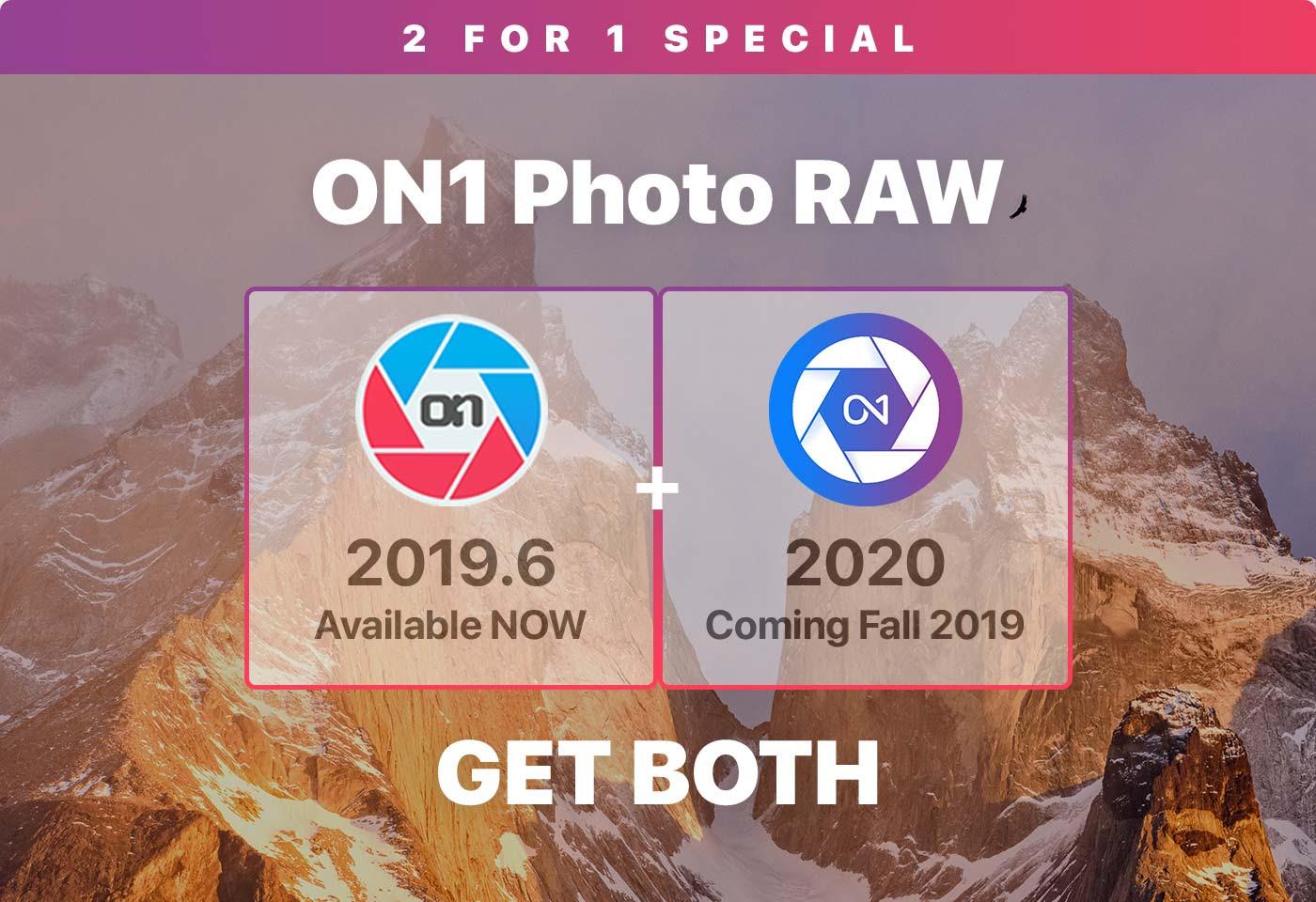 ON1 Photo RAW 2019.6 + ON1 Photo RAW 2020