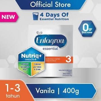 Surabaya - Enfagrow Essential 3 Vanila Susu Formula [400 g]