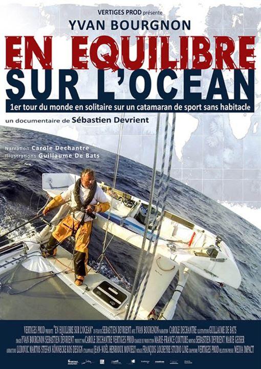 En équilibre sur l'océan : Affiche