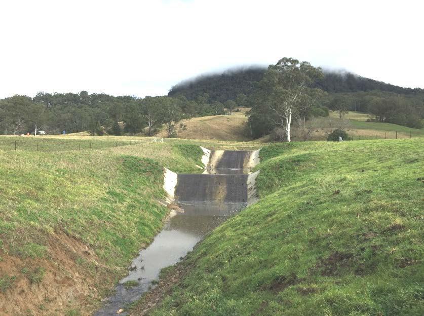 Erosion control works