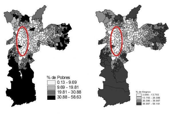 Mapas produzidos pelos sociólogos Eduardo Rios e Juliana Riani , da UERJ, retirado do blog: cidades para que(m)?