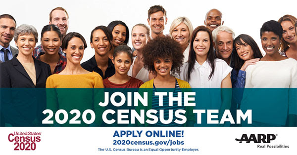 Join the 2020 Census Team