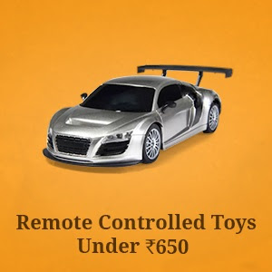 Remote Controlled Toys for under Rs.650