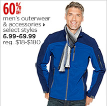 Men's outerwear and accessories