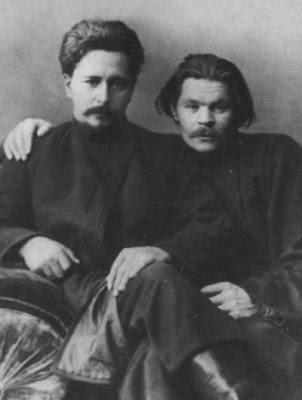 Максим Горький и Леонид Андреев. 1901г.
