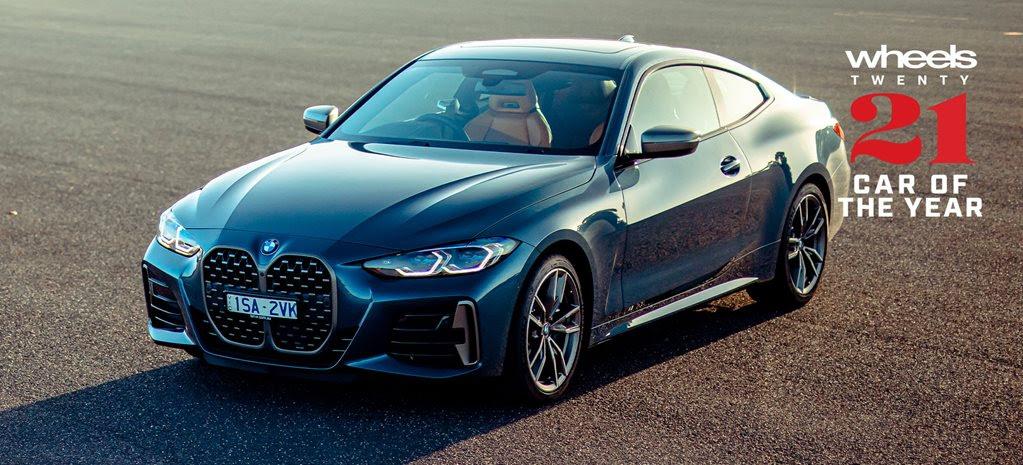 BMW 4 Series COTY 2021 finalist