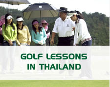 Golf Lessons in Thailand