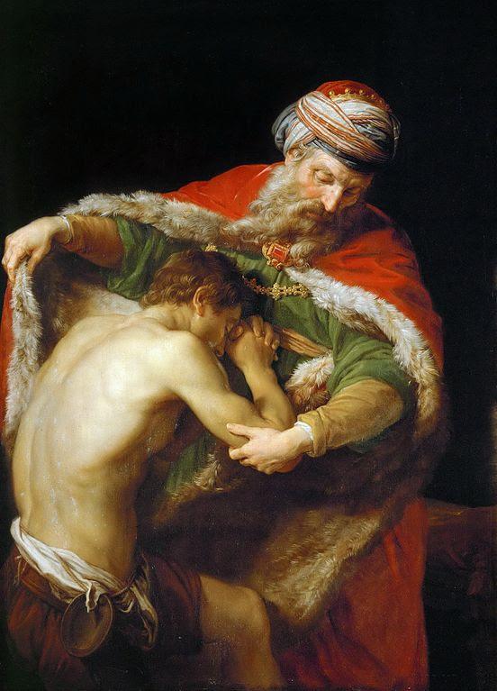 Prodigal Son by Pompeo Battoni (18th c.)