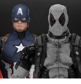 NECA MARVEL FIGURES