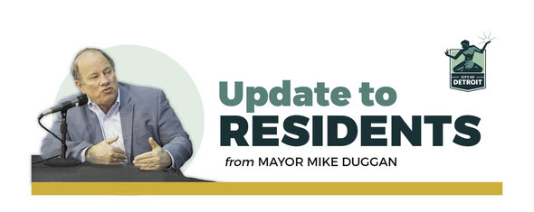 Mayor's Update to Residents Header