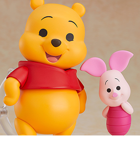 Winnie the Pooh Nendoroid No.996 Winnie the Pooh & Piglet
