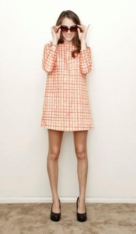 The Poppy Picnic Print Shift Dress