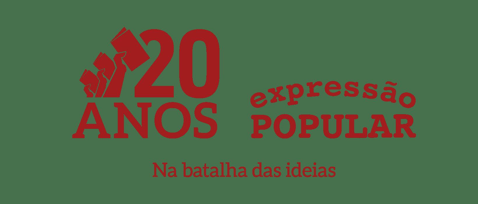 20 anos na Batalha das Ideias - Expressao Popular