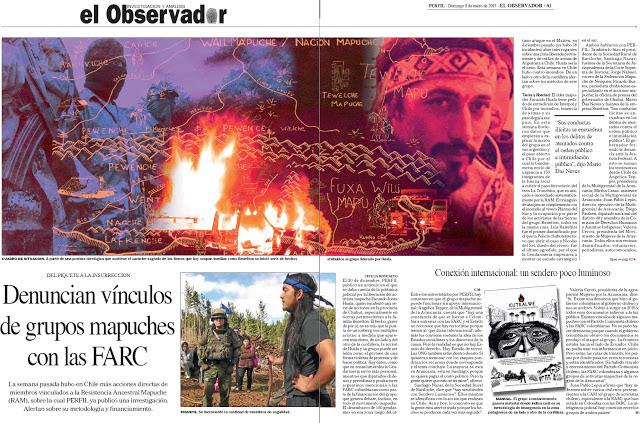 Mapuches FARC