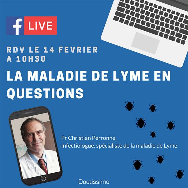 INFO LYME en direct Facebook à 10h30 aujourd'hui  ! Live-lyme