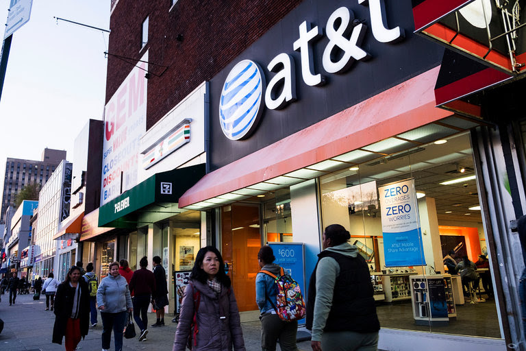 "AT&T was among the broadband companies that suggested this week that they supported an ""open internet."""