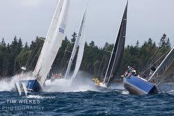 J/teams sailing at Chester Race Week