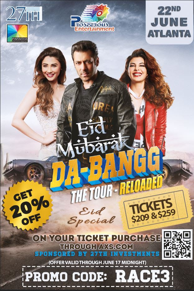 Da-Bangg the Tour Reloaded Eid Special