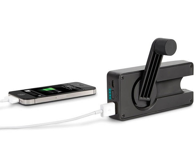 hand crank phone charger1 640x533 - Surprising Ways To Charge Your Phone Without Electricity
