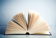 photo of fanned book