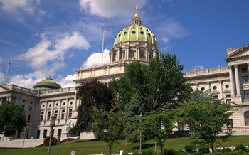 Pennsylvania legislators are trying to close the state budget gap without raising new revenue. (Jim Bowen/Flickr)