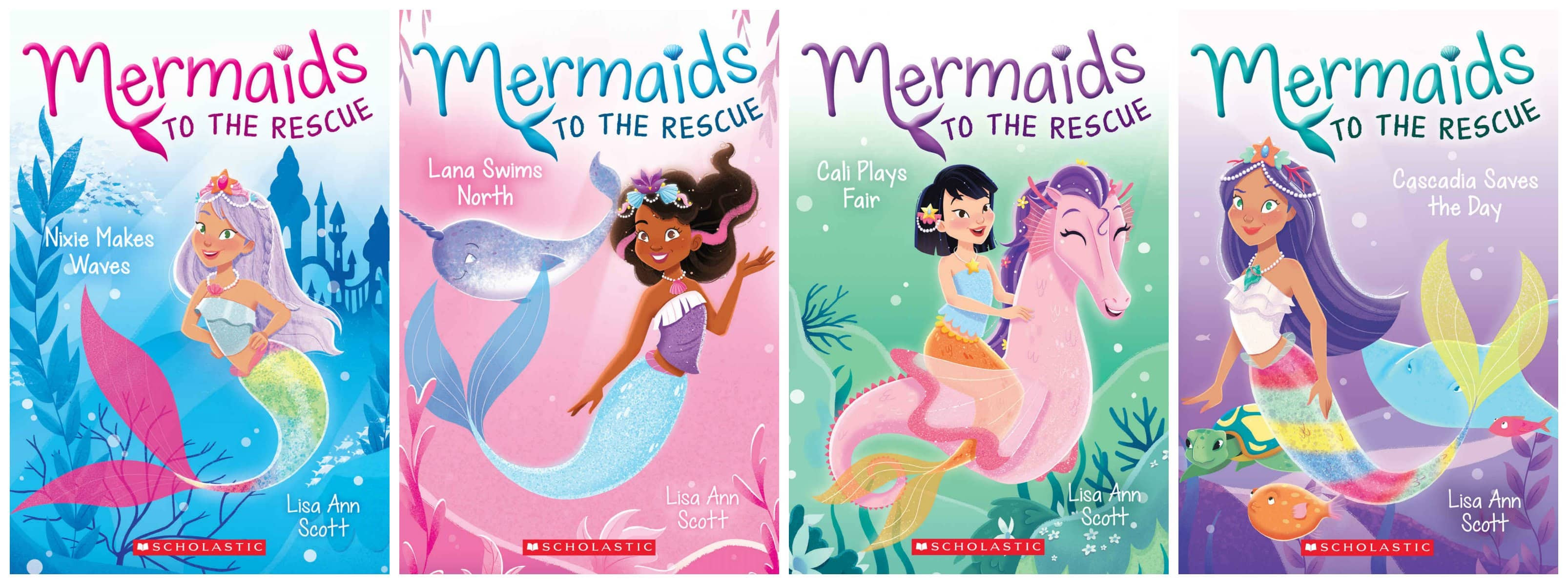 Mermaid to the Rescue Series