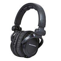 Monoprice Premium Hi-Fi DJ Style Over-the-Ear Pro Headphones with Mic