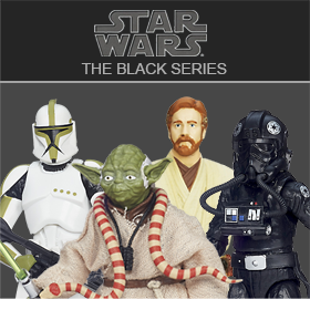 2014 STAR WARS BLACK SERIES 04 - CASE, SET, SINGLES
