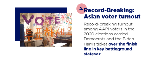 2. Record-Breaking: Asian voter turnout