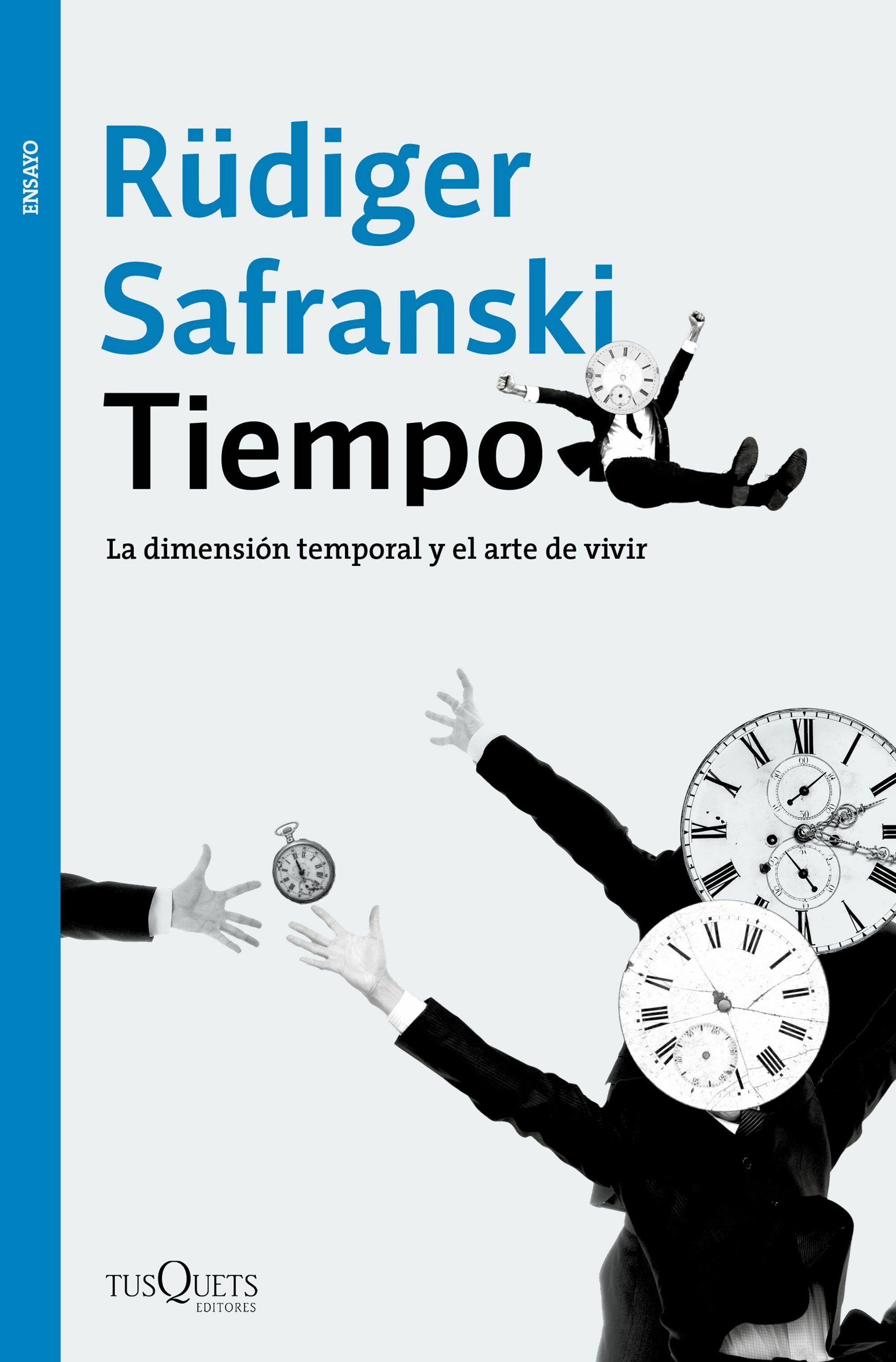 Resultado de imagen de portada de tiempo de safranski