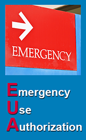 Emergency Use Authorization banner - small