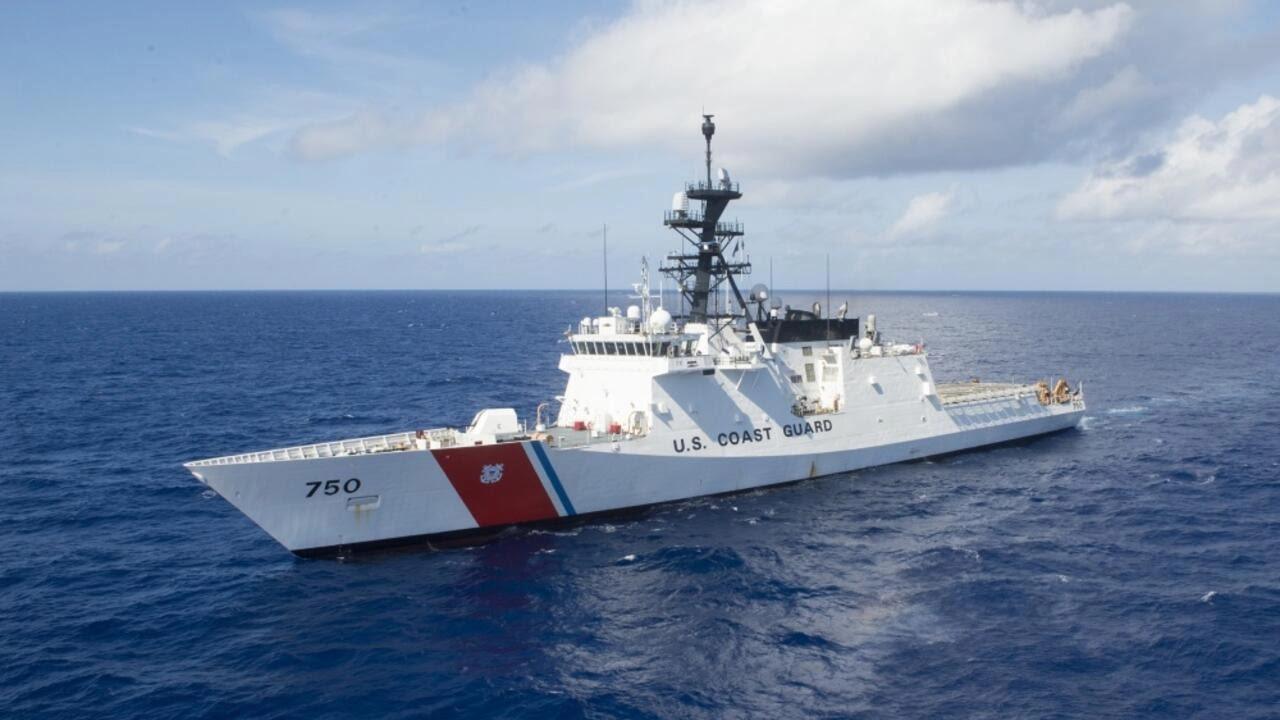 Tàu tuần duyên Mỹ đến Thái Bình Dương để chống các hoạt động của Trung Quốc ở Biển Đông