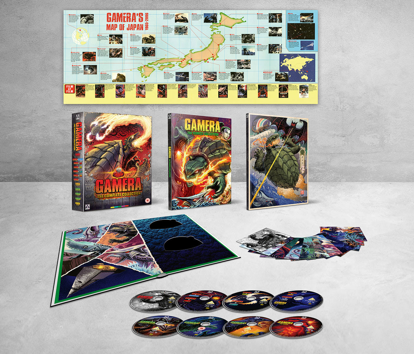 Gamera: The Complete Collection Limited Edition Box Set