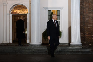Gen. John F. Kelly left the Trump National Golf Club after a meeting with the president-elect in Bedminster, N.J., last month.